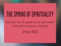 Dear Youth, Make Full Use of the Spring of Spirituality | Imam Sayyid Ali Khamenei | Farsi sub English