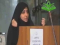 Woman in Islam The role of a Woman in the Modern Society | Spk Mrs Salma Bohjani - Urdu