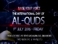 Raise Your Voice - International Al-Quds Day - Dearborn - 1st July 2016 - English