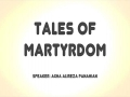 Tales of Martyrdom | Agha Alireza Panahian | Farsi sub English