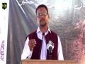 [Youm-e-Hussain as] Prof. Zahid Ali Zahidi - Federal Urdu University karachi - Muharram 1438/2016 - Urdu