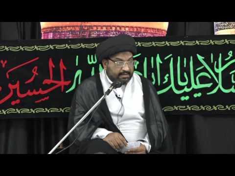 [Majlis 04] Khutba-e-Mina - 18 Muharram 1438 A.H - Moulana Syed Taqi Raza Abedi
