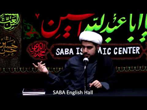 Shaykh Mehdi Rastani Saba Center Muharrum 10/29/2016 (First few minutes Urdu marsiya in backgroung) - English