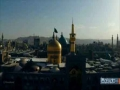 short clip An indescribable feeling visit to haram of imam reza PBUH - English