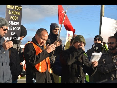 [Noha by Br. Kamran Rizvi] Toronto Protest at Pakistani Consulate against Shia Killings in Pakistan Nov 2016 - Urdu