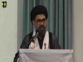 [Youm-e-Hussain as]  H.I Moulana Ahmed Iqbal Rizvi - Dawood University Of Engineering & Technology Karachi - Safar 1