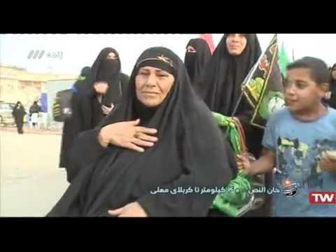 59 - پیاده روی اربعین - خان النص - ۴۰ کیلومتر تا کربلا - بخش ۴ - Farsi