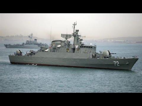 [21 November 2016] Iranian navy\'s 44th squadron passes through Atlantic  | Press TV English