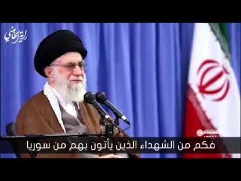سنقتحم العالم براية الحسين (ع) - لطمية بحضور السيد الخامنئي - Far