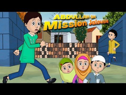 Abdul Bari Muslims Islamic Cartoon for children - Abdullah on Mission jealousy - Urdu