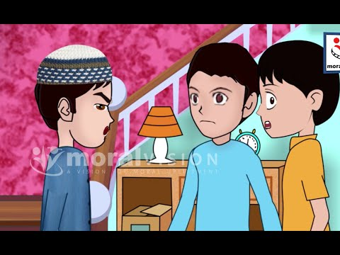 Abdul Bari Muslims Islamic Cartoon for children - Angry Abdul Bari Islamic cartoon - Urdu