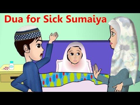 Abdul Bari Muslims Islamic Cartoon for children - Abdul Bari & sick Sumaiya - Urdu