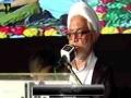 H.I Mirza Yousuf Hussain | Qoumi Milad-e-Mustafa saww Conference - 1438/2016 - Urdu