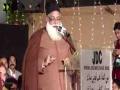 Janab Tahir Sajjad Qadri  | Qoumi Milad-e-Mustafa saww Conference - 1438/2016 - Urdu