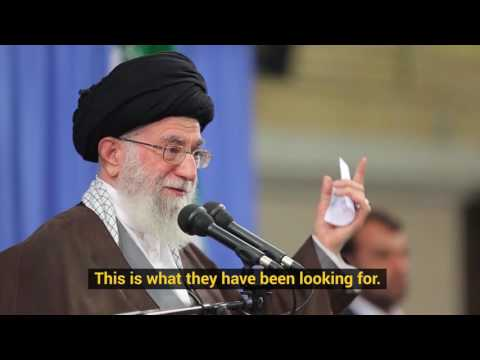 Ayatollah Khamenei: There is terrorism in Turkey - Farsi sub English