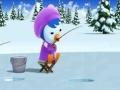 Animated Cartoon - Pororo - Poby\'s Good Luck - English