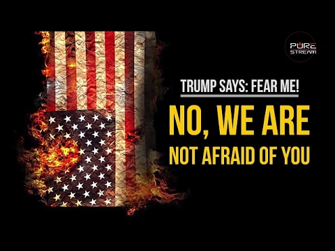 Trump says: Fear Me! | No, we are NOT afraid of you! | Farsi sub English