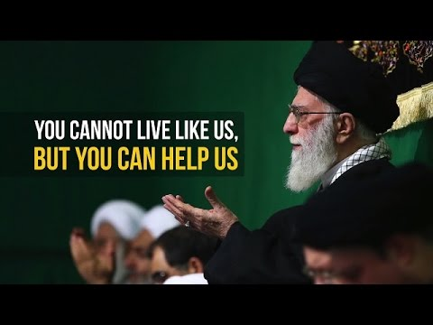 You Cannot Live Like Ahl al-Bayt, But You Can Help Them | Farsi sub English