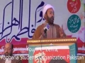 [ASOs 46th Convention] Topic: Seerat Zehra as | Moulana Ghulam Shabir Kanhio - Sindhi