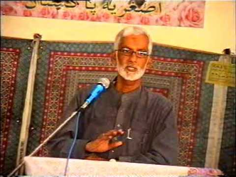 [ASO 37th Annual Convention] Topic: Apna Ihtasab Mukhalif Ban Ker Karen | Engr Hussain Moosavi - Sindhi