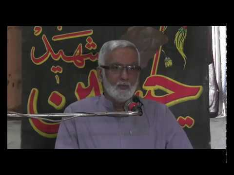 [Majlis Aza] Topic: Insan jo Khuda Daanh Safar | Engr Syed Hussain Moosavi - Sindhi