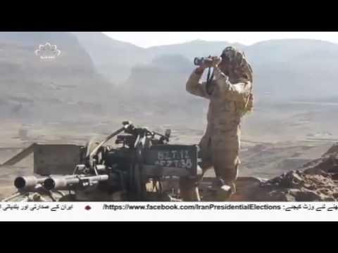 [16 May 2017] یمن کے متعدد صوبوں پر سعودی اتحاد کے حملے- Urdu