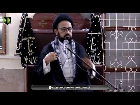 [Majlis] Topic : Sahe Ideology & Kamyaab Zindagi   H.I Sadiq Raza Taqvi - Urdu