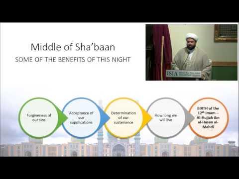 Significance of the Sha\'ban Amaal - English