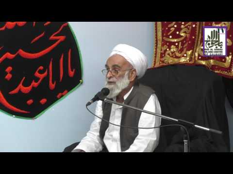 [Ramazan 1438/2017  Lecture - 06] Spk : H.I Allama Haider Ali Jawwadi - Urdu