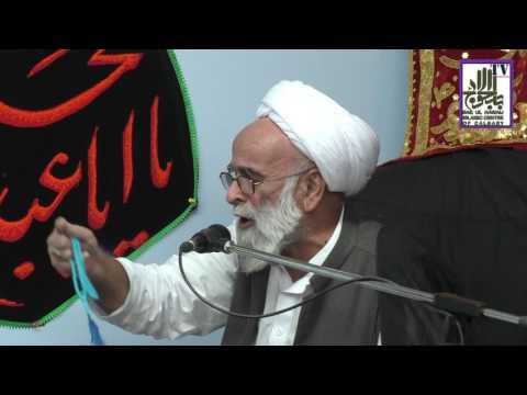 [Ramazan 1438/2017  Lecture - 07] Spk : H.I Allama Haider Ali Jawwadi - Urdu