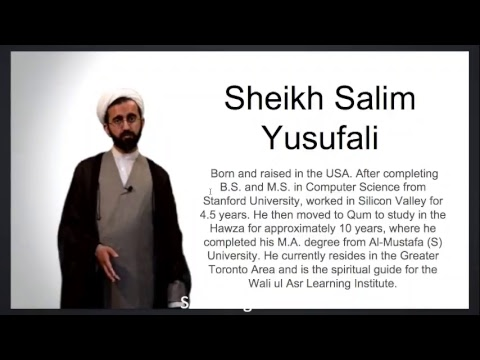 [Ramadan15 2017] Practical lessons from Surah Yaseen Shaykh Salim Yusufali Saba Center. Speech start after 9 Mins.