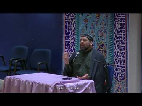 [Ramadhan 12 (2017)] Syed Asad Jafri - Saba Center - Englishh