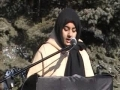 Imam Hussain Rally  -  Speech by Sister Irja Zaidi - English
