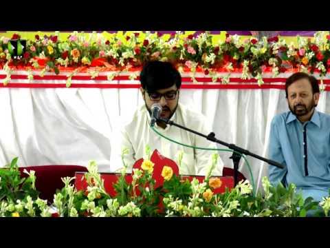[ 1438 جشن ولادت حضرت فاطمہؑ معصومہ] - Manqabat: Br. Hamza Abidi - Urdu