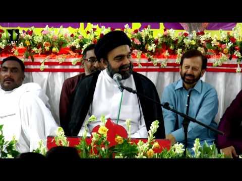 [ 1438 جشن ولادت حضرت فاطمہؑ معصومہ] - Speech: Moulana Muhammad Ali Naqvi - Urdu