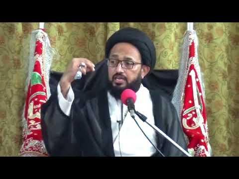 [Jashan-e-Eid-e-Ghadeeer] Speech: H.I Sadiq Raza Taqvi - Urdu