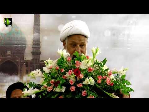 [مہدویت امید بشریت کنونشن2017] Speech: H.I Moulana Ghulam Abbas Raeesi | ISO Khi Division - Urdu