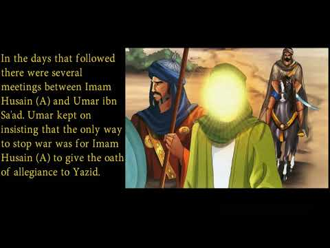 Part 5 of 10 - Events of the First Days in Karbala - Muharram 2017 - English