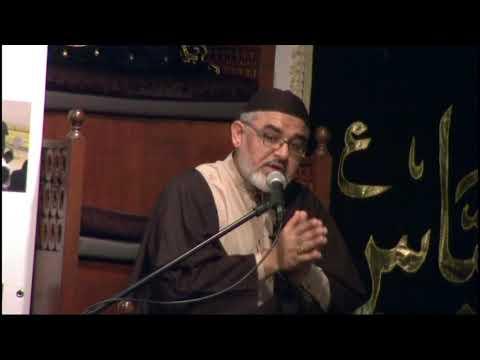 [06]حسینیت, نصرت حسین اور عصر حاضر کے تقاضے Maulana Ali Murtaza Zaidi  2017/1439 AH Urdu