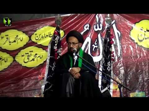 [08] Topic: Aakhir-uz-Zamaan k Mutaliq Imam Ali Ke Peshan Goiyaan | H.I Sadiq Taqvi - Muharram 1439/2017 - Urdu