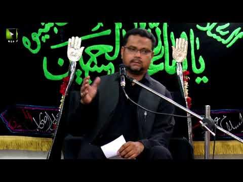 [10] Topic: Momin Ke Baseerat Or Maarfat   Professor Zahid Ali Zahidi - Muharram 1439/2017 - Urdu