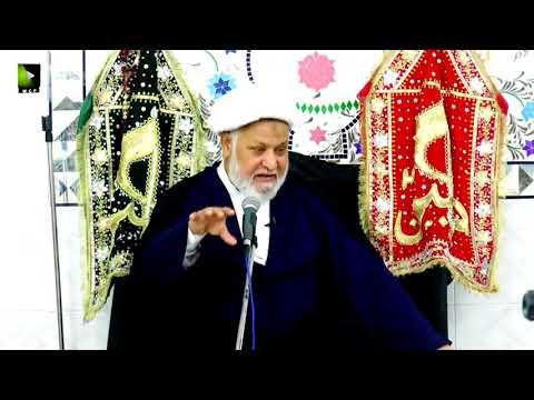 [02] Topic: Maarfat-e-Imam (as)   H.I Ghulam Abbas Raesi - Muharram 1439/2017 - Urdu