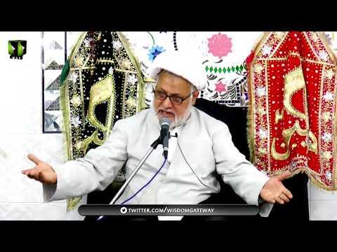 [05] Topic: Maarfat-e-Imam (as)   H.I Ghulam Abbas Raesi - Muharram 1439/2017 - Urdu