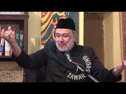 [08] Hidayat-e-Elahi ki Bunyadein   8th Muharram 1439   Moulana Agha Mujahid Hussain - Urdu