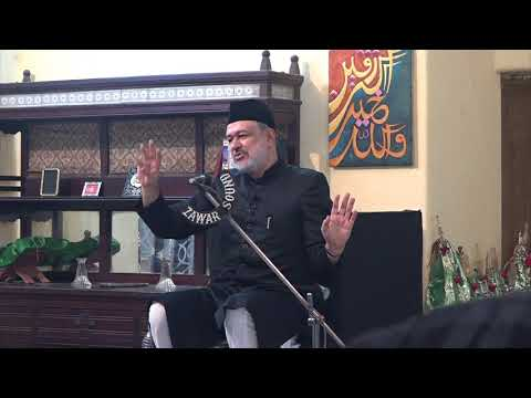 [09 Last] Hidayat-e-Elahi ki Bunyadein   9th Muharram 1439   Moulana Agha Mujahid Hussain - Urdu