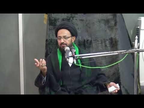 [08] Topic: زیارت وارثہ، حیاتِ کاملہ کا جامع منشور   H.I Sadiq Taqvi - Muharram 1439/201