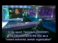 Galloway faces his accusers - a Jewish Defence League on Channel 4 news - English