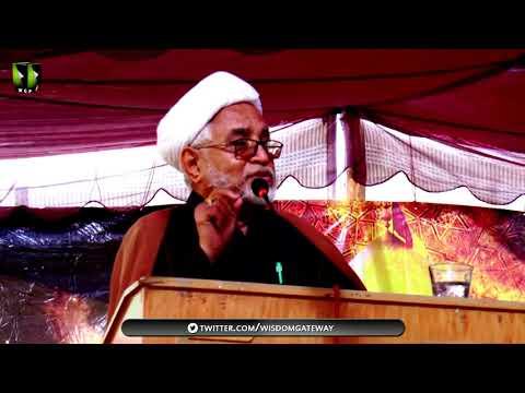 [Youm-e-Hussain as] Speech: H.I Mirza Yousuf Hussain   Federal Urdu University Karachi   Muharram 1439/2017 - Urdu