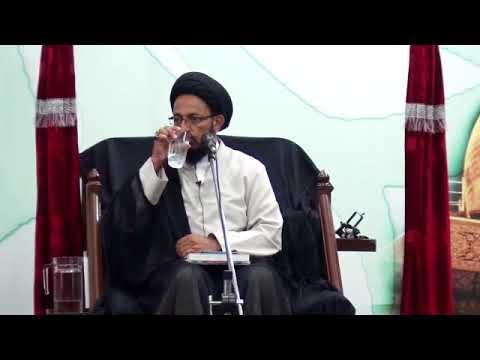 [04] Topic: عزاداری اور عصری تقاضے   H.I Sadiq Raza Taqvi - Muharram 1439/2017 - Urdu