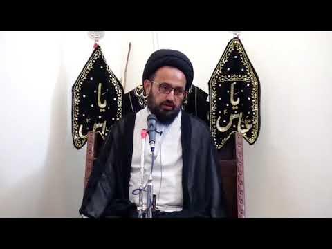[2] Topic: مقصد تخلیق انسان   H.I Sadiq Raza Taqvi - Muharram 1439/2017 - Urdu